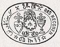 Ras Mekonnen's first seal (1890-1897).jpg