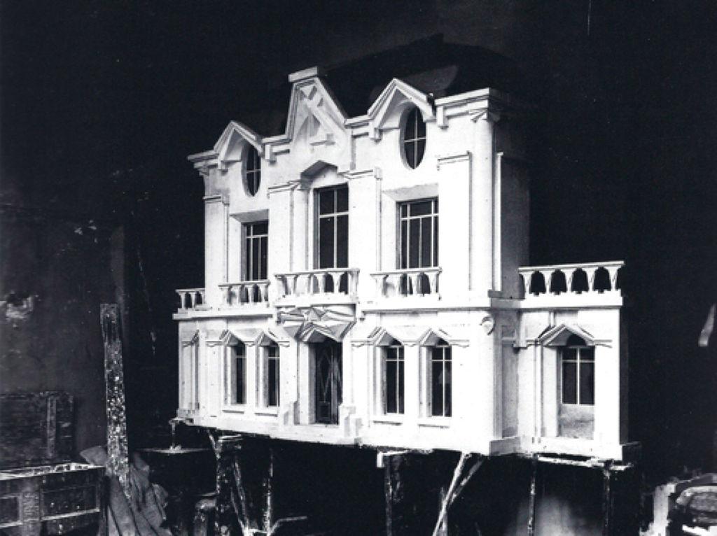 File raymond duchamp villon 1912 maquette originale de for Maquette de maison