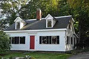House at 483 Summer Avenue - Image: Reading MA 483Summer Avenue