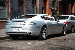 Rear view Silver Aston Rapide.jpg