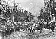 Red Army in Tiflis Feb 25 1921