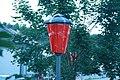 Red lamp at Zámostí 2014 in Třebíč, Třebíč District.jpg