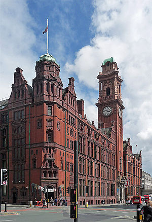 Refuge Assurance Company - The Refuge Assurance Building, Manchester - the company's head office between 1895 and 1987