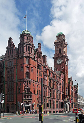 Wilmslow Road - Refuge Assurance Building (Palace Hotel).