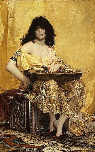 Salome - Salomé, by Henri Regnault (1870).