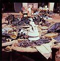 Religious Items on sale on Porto Novo market place- Uskonnollista esineistöä myynnissä Porto Novon torilla (16841703372).jpg