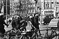 Rellen bij ontruiming panden in Nieuwmarktbuurt in Amsterdam politie slaags met, Bestanddeelnr 927-8245.jpg