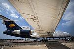 Relocation of Kish Air Tupolev Tu-154 (EP-LBR) to the Kish Island coast (6).jpg