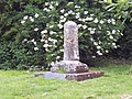 Remains of preaching cross at Winterborne Zelston - geograph.org.uk - 457449.jpg