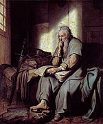 "Rembrandt, ""St. Paul in Prison"".jpg"