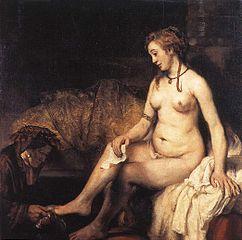 Apologise, Bathsheba at her bath rembrandt