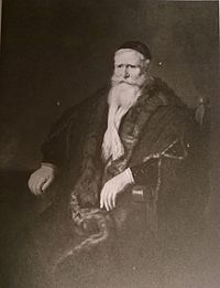 Rembrandt - Portrait of an old man in aan armchair - Bridgewater collection.jpg