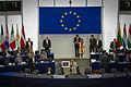 Remise prix Sakharov 2010 Guillermo Fariñas Strasbourg Parlement européen 3 juillet 2013 03.jpg