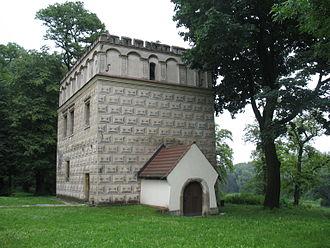 Branicki (Gryf) - Image: Renaissance manor house in Branice by Maire