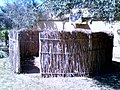 Replica of a Reed Cooking Screen, Kleinplasie Open Air Agricultural Museum and Show Grounds, Worcester, South Africa 02.jpg