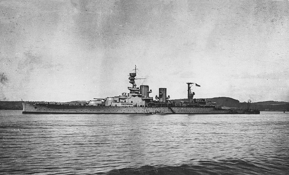 HMS Repulse (1916) - W...
