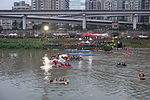 Rescue Team Searching Crashed B-22816 in Keelung River 20150204k.jpg
