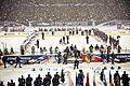 Reserve general officer, Soldiers honored during Stadium Series NHL game (12882405554).jpg