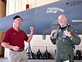 Retired Maj. Gen. Doug Pearson and Capt. Todd Pearson in front of an F-15A Eagle both flew.jpg