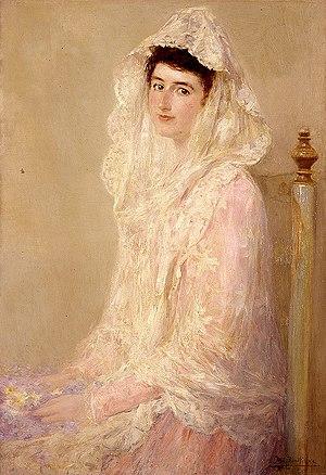 José Benlliure y Gil - Image: Retrat de Maria Benlliure Ortiz per Josep Benlliure Gil, 1905, Museu de Belles Arts de València