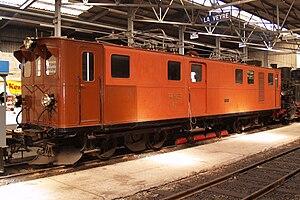 Bernina Railway Ge 6/6 81 - The Ge 4/4 181 at the Blonay-Chamby (as at Spring 2008)