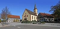 Rheinau-Freistett-04-Rathaus-Kriegerdenkmal-St Georg-gje.jpg