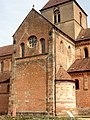 Rheinmünster, Klosterkirche Schwarzach, südlicher Querarm, Blick von Südosten.jpg