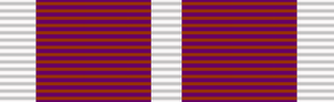 Meritorious Service Medal (United Kingdom) - Image: Ribbon Meritorious Service Medal (UK)