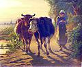 Richard Burnier - Rückkehr von der Weide.jpg