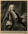 Richard Mead. Mezzotint by R. Houston after A. Ramsay. Wellcome V0003954.jpg