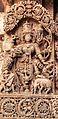Richly Decorated Carving of Goddess Durga - Sri Lakshminarayana Temple,Hosaholalu.jpg