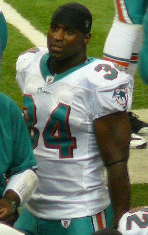 Ricky Williams trade - Ricky Williams with the Miami Dolphins