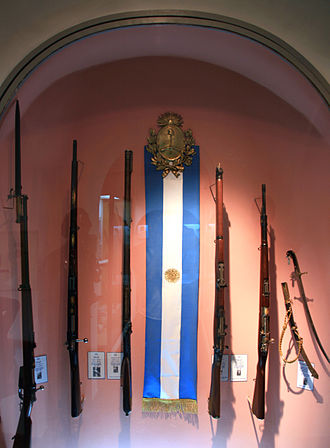 Paz Palace - Rifles dating from the Wars for Independence
