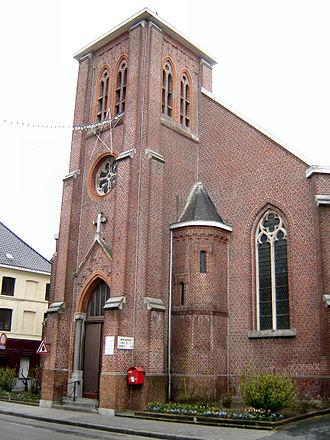 Risquons-Tout - Image: Risquons Tout Eglise Saint Paul 1