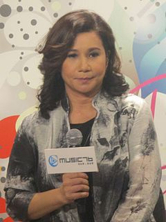 Rita Carpio Hong Kong Cantopop singer