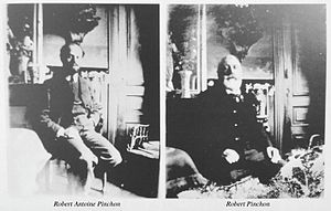 Robert Antoine Pinchon - Robert Antoine Pinchon (left) and his father Robert Pinchon (right)