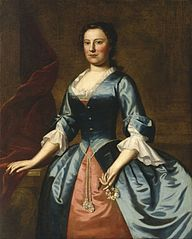 Portrait of Mrs. Samuel McCall, Sr. (Anne McCall, 1720–1785)
