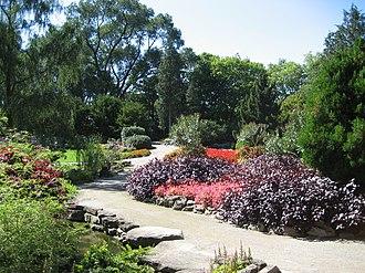 Royal Botanical Gardens (Ontario) - Image: Rock Gardens A