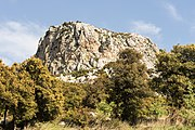 Rock in Ptoan Mountains, Boeotia, central Greece.jpg