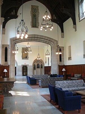 Common Room (university) - Mathey College Common Room, Princeton University, USA.
