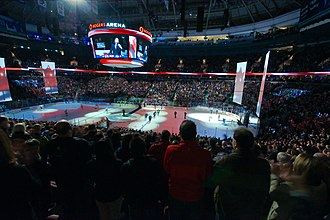 Rogers Arena - Rogers Arena interior in 2013