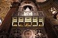 Roma, santa maria dell'anima, interno, cantoria alla testata della navata dx 01.jpg