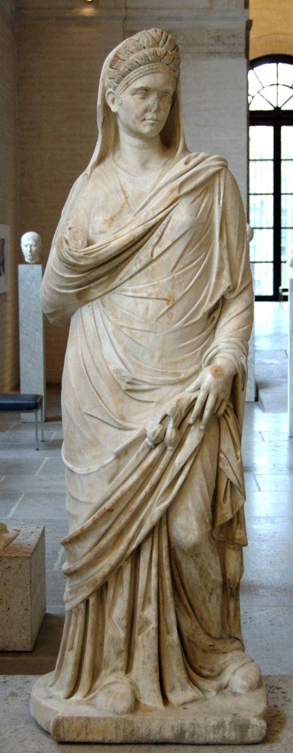 Roman woman Glyptothek Munich