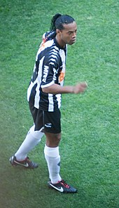 138c1cf526037 Ronaldinho with Atlético Mineiro in the Brazilian Série A in October 2012
