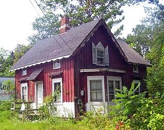 Roosevelt Point Cottage and Boathouse United States historic place