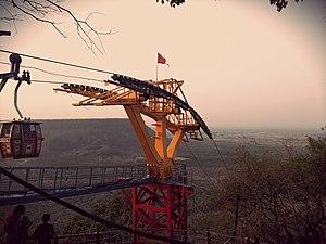 Maihar - Ropeway Post at Maihar