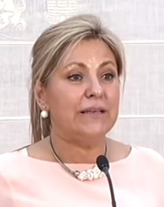 Junta of Castile and León - Image: Rosa Valdeón 2015b (cropped)