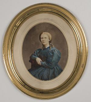 Rosalie Sjöman - Rosalie Sjöman, self-portrait c.1875