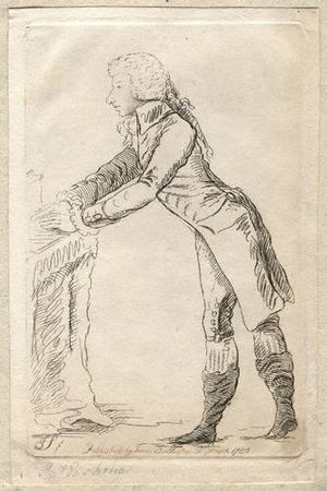James St Clair-Erskine, 2nd Earl of Rosslyn - The Earl of Rosslyn by James Sayers, 1788.