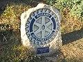 Rotary International wheel, Red Lion Gardens, Wetherby (12th September 2018).jpg